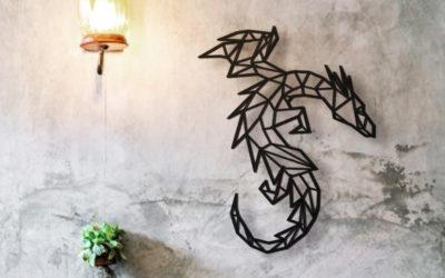 Dragón de madera