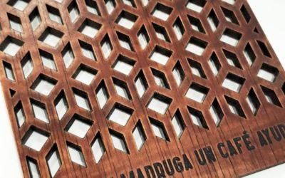 Regalos personalizados de madera